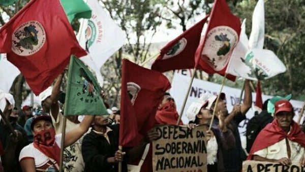 Brazilian social movements and unions launched a three-day national action on Sept. 5, 2016 to demand rights for landless people.