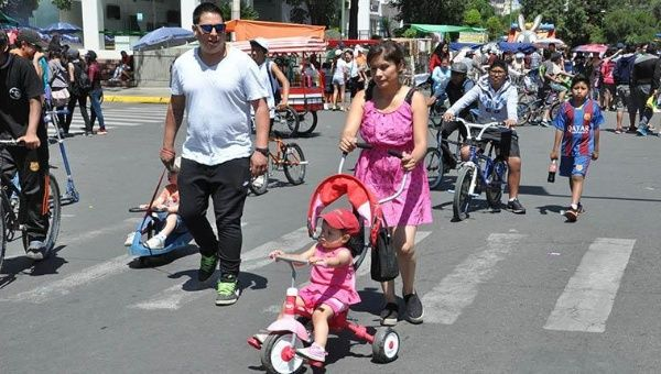 Bolivia introduced the annual National Pedestrian Day in 2011.