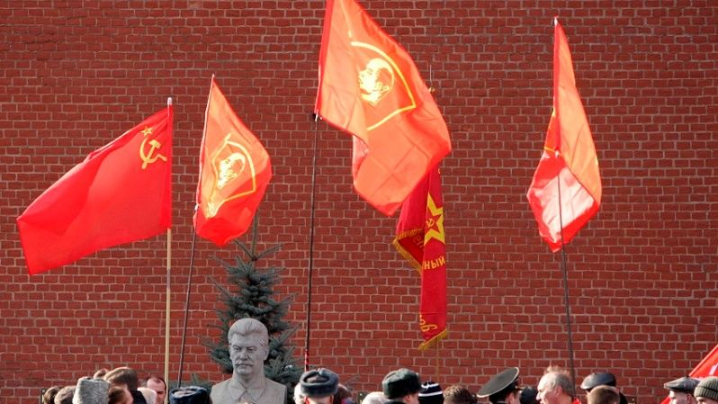 Communists in Moscow commemorate 57 years since the death of Soviet leader Josef Stalin.