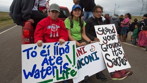 Opponents fear the Dakota Access Pipeline could contaminate the drinking water of millions.