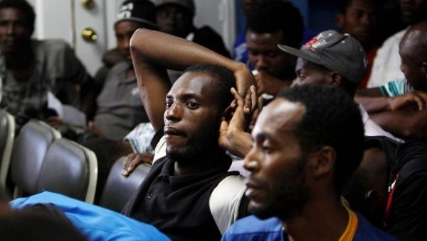 African immigrants detained in Honduras