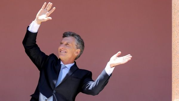 Macri faces strong criticism from unions around the country.