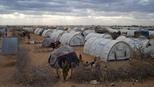 A general view shows the tented settlement near the Ifo 2 refugee camp in Dadaab, near the Kenya-Somalia border, August 29, 2011.