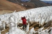 Activists argue that mining activity in San Juan province threatens glaciers in the area, including along the border with Chile.