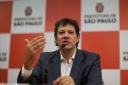Fernando Haddad, who is of Lebanese descent, is running for re-election for mayor of Sao Paulo.
