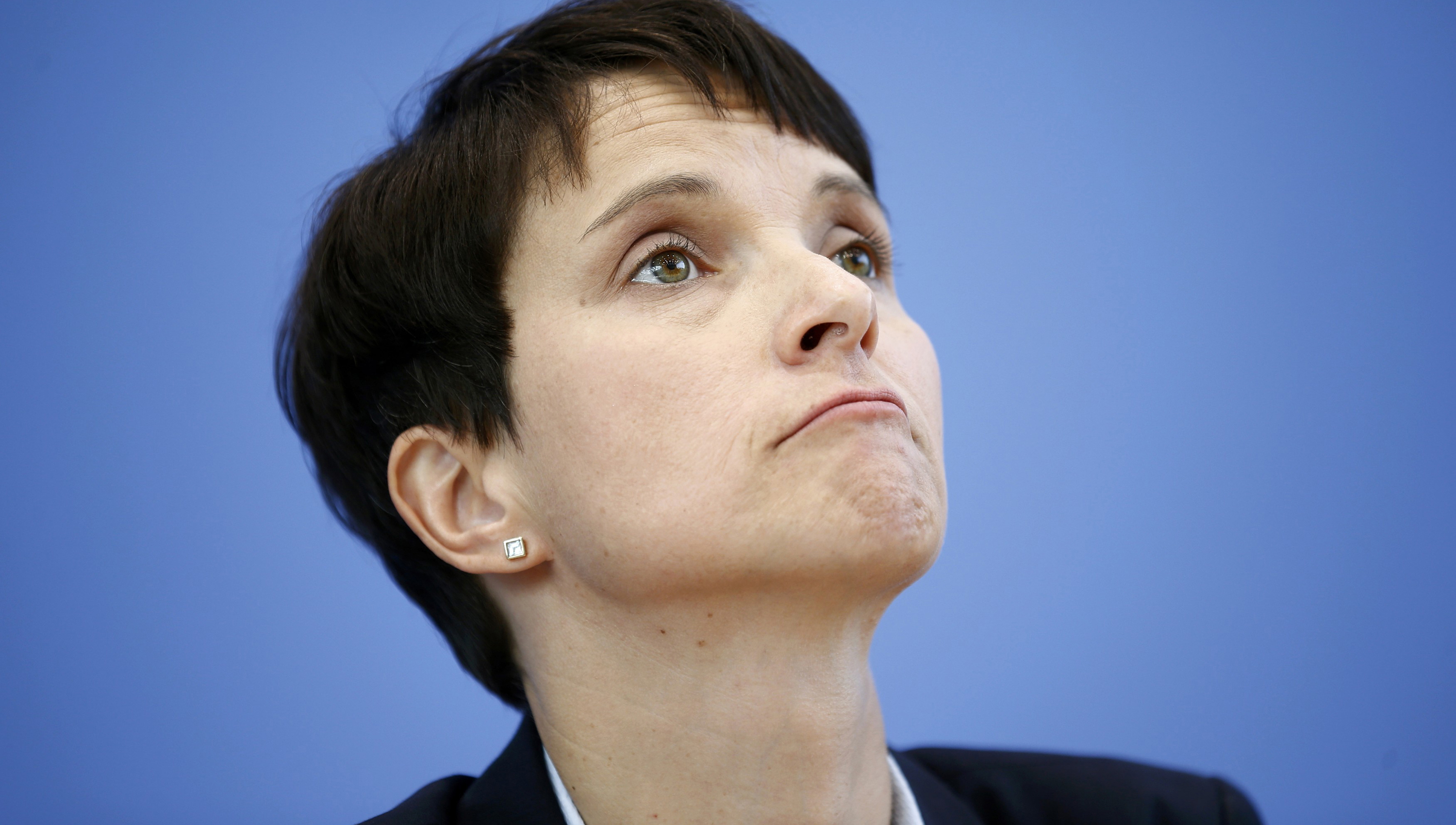 Frauke Petry, lideresa del ultraderechista Alternativa para Alemania (AfD).