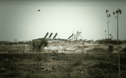 Illegal gold mining settlements in Madre de Dios