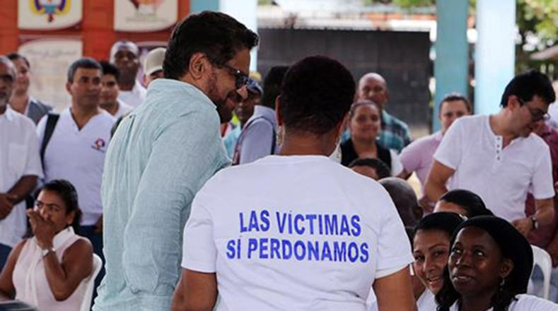 """""""Las víctimas de La Chinita sí perdonamos"""", repitieron varias veces los familiares de los que murieron en esa matanza."""