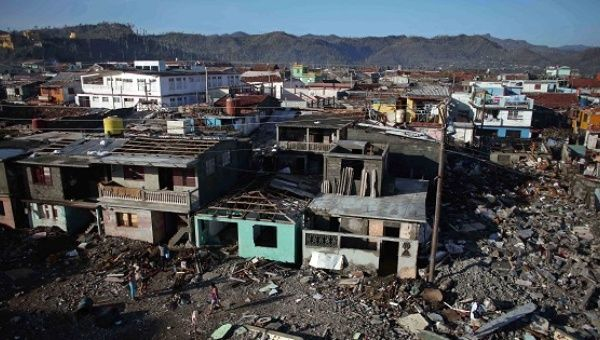 Damaged houses are seen after the passage of Hurricane Matthew in Baracoa, Cuba October 7, 2016 | Photo: Reuters