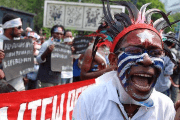 West Papuan Pro-Independence supporters