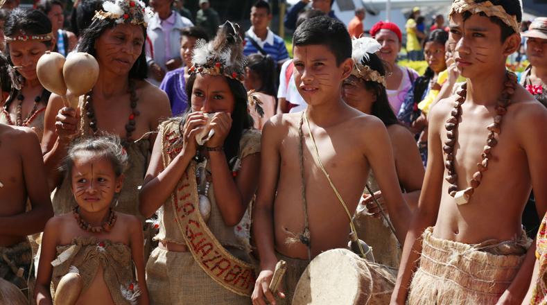 Venezuela's Indigenous March to Celebrate Historic ...