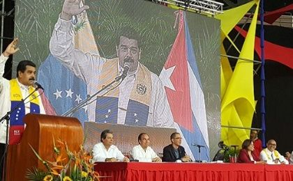 "Maduro said that he will invite a ""popular assembly of the country's congress"" to review the budget Friday."