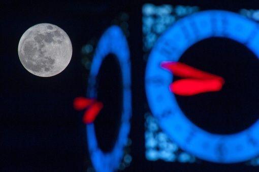 Una superluna se verá la noche de este domingo