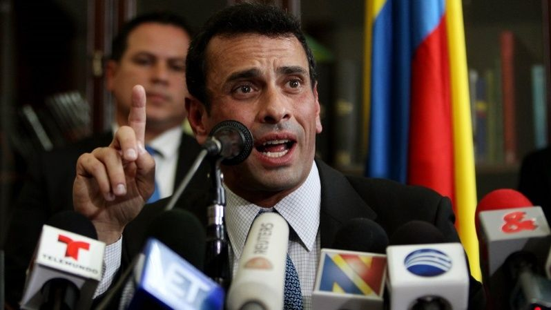 Henrique Capriles is leading the movement to revoke President Maduro