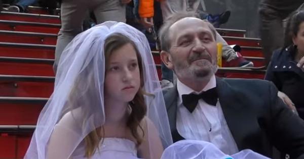 Con boda ficticia denuncian que en EE.UU. aún es legal casarse con niñas