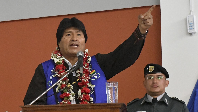 Evo Morales condena conducta intervencionista de Luis Almagro