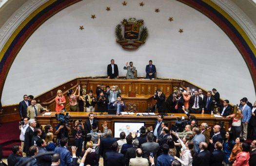 El Parlamento venezolana es dirigido por la derecha venezolana