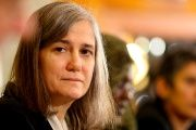 Democracy Now! journalist and anchor, Amy Goodman.