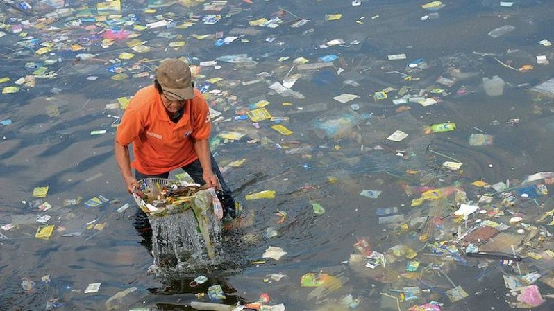 By the middle of this century there will be more plastic in the ocean than fish if people keep polluting the seas, a new report warns.