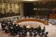 Security council meeting at the United Nations