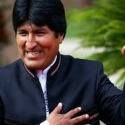 """As long as capitalism and imperialism exist, the struggle continues,"" said Bolivia President Evo Morales."
