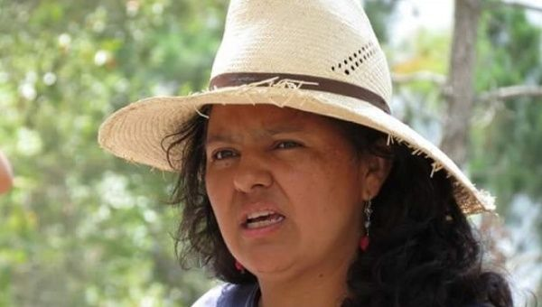 Honduran human rights and environmental activist Berta Caceres was assassiniated in her home, March 3, 2016.