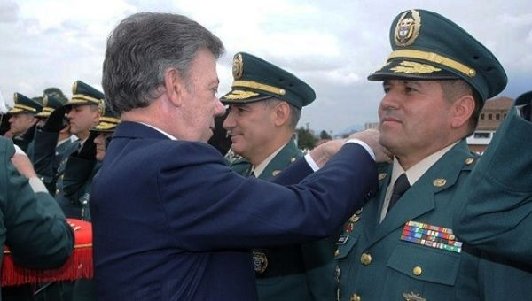 Colombia is set to promote Military personnel accused of war crimes. (Photo Courtesy of Telesur)