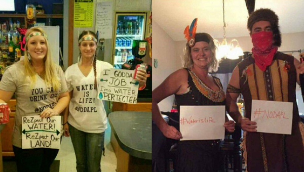 DAPL Water Protector Costumes Show Halloween Racism's Ugly Face ...