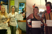 Racist Halloween costumes have garnered harsh criticism on social media.