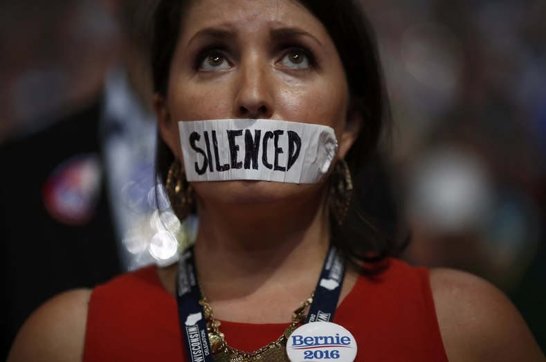 Sanders supporters expressed their outrage throughout the convention, even going so far as jeering their one-time presidential pick after it became evident that the Vermont senator would back Democratic presidential candidate Hillary Clinton to the hilt.