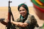 The Kurdish Female Guerrillas Fighting the Patriarchy