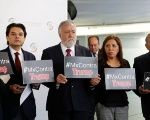 Mexican Senators from the left-wing PRD promote an anti-Trump campaign on social media.