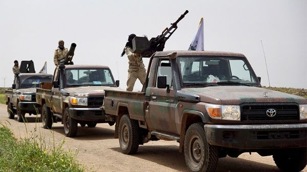 EE.UU. envía tres mil toneladas de armas a terroristas en Siria ...