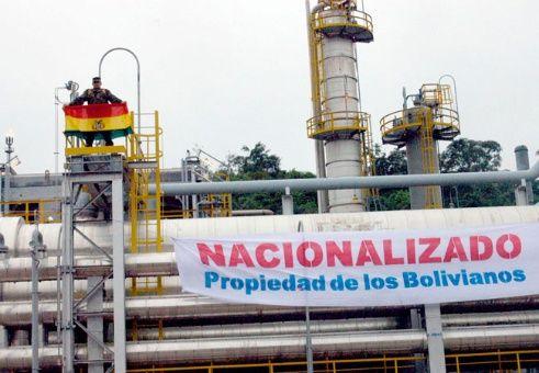 Resultado de imagen para bolivia nacionalizacion del petroleo
