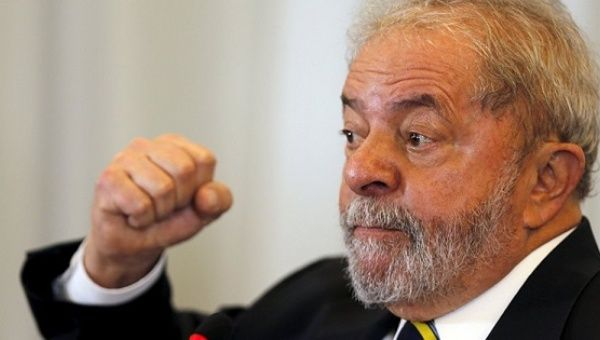 Lula is the closest ally to ousted President Dilma Rousseff.