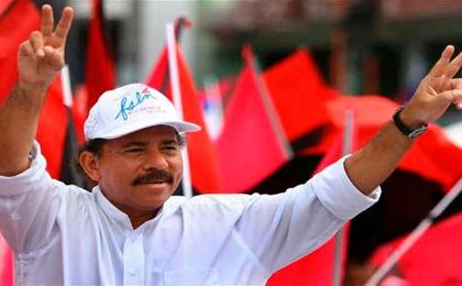 President Daniel Ortega enjoys considerable popularity.