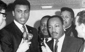 Muhammad Ali was an active defender of the civil rights movement.