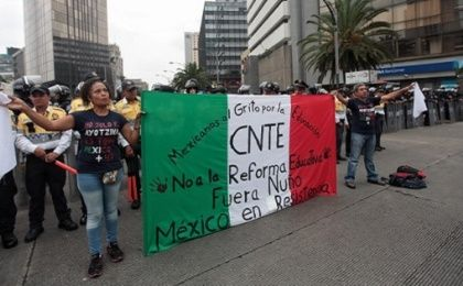 Teachers and supporters will march in Mexico City on July 5 to continue their demands to repeal neoliberal education reform.