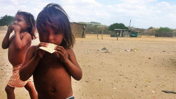 La oficina del Fondo de las Naciones Unidas para la Infancia (Unicef) en Colombia informó el pasado año que uno de cada diez niños sufre desnutrición crónica en Colombia.