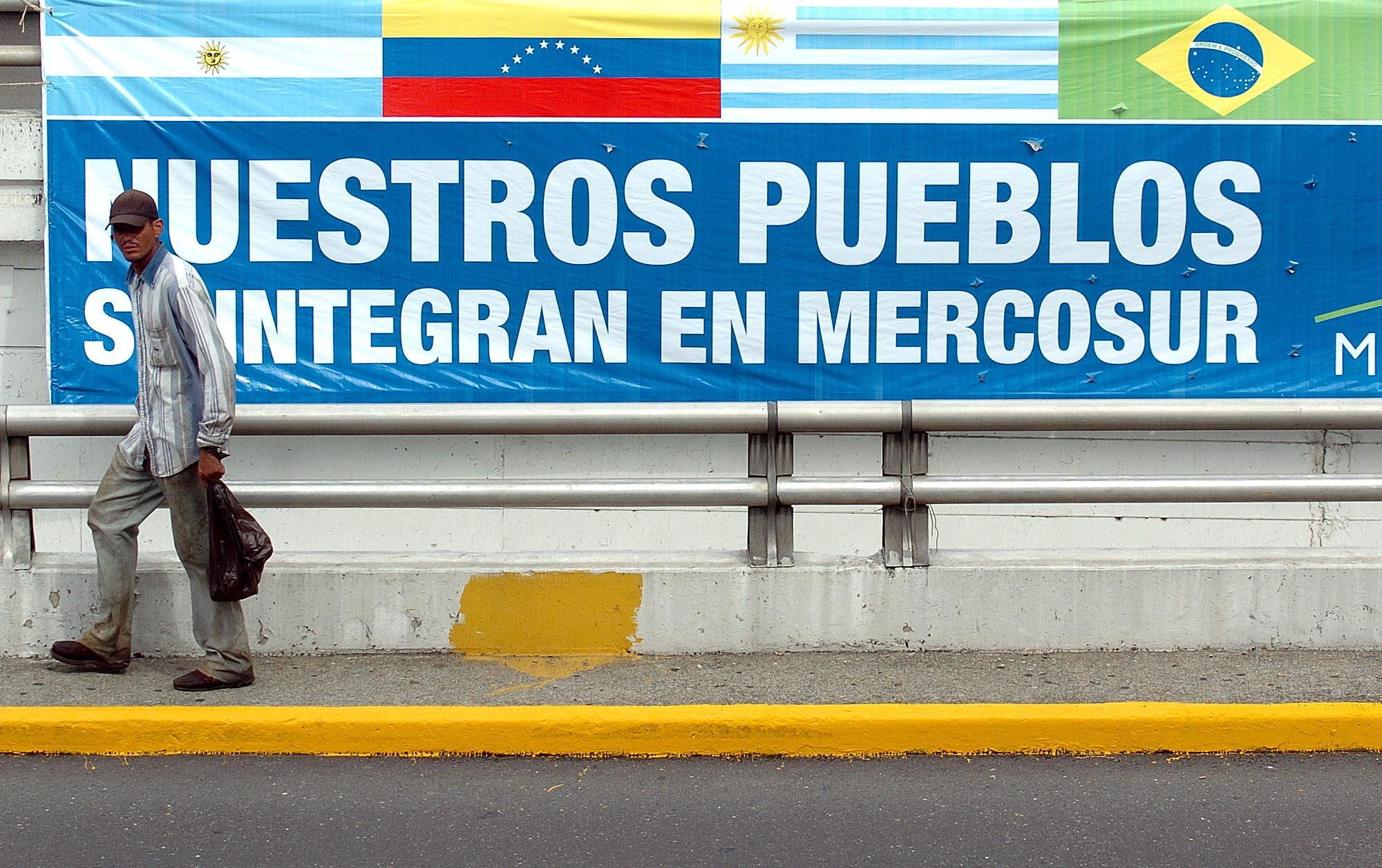 La operación contra Venezuela en el Mercosur