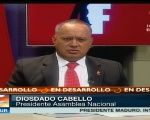 Diosdado Cabello provided details Thursday night about the coup attempt.
