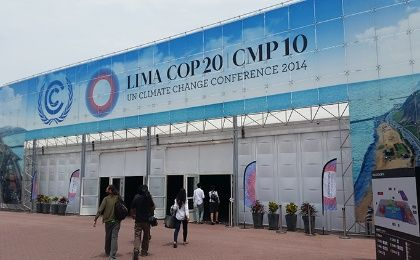 Entrance to the COP20 (Photo: Rael Mora)