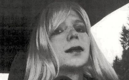 U.S. Army whistleblower Chelsea Manning, who was imprisoned for leaking evidence of war crimes.