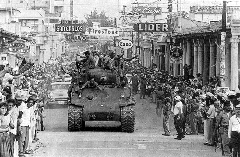 And the celebrations continued, as millions of Cubans hailed the anti-imperialist movement to oust U.S. imposed dictator Fulgencio Batista.