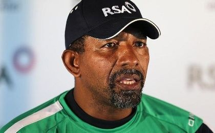 The new West Indies cricket head coach, Phil Simmons.