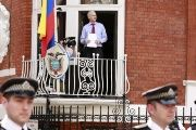 Julian Assange has been living in the Ecuadorean Embassy in London since 2012.