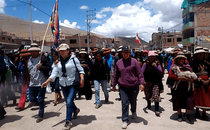 Protests continue against Las Bambas Mine by Local Communities