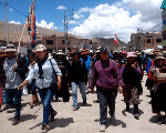Protests continue against Las Bambas Mine by local communities.