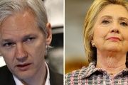 Julian Assange and Hillary Clinton.