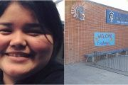 High school student Leilani Thomas has been docked grades for her protest.